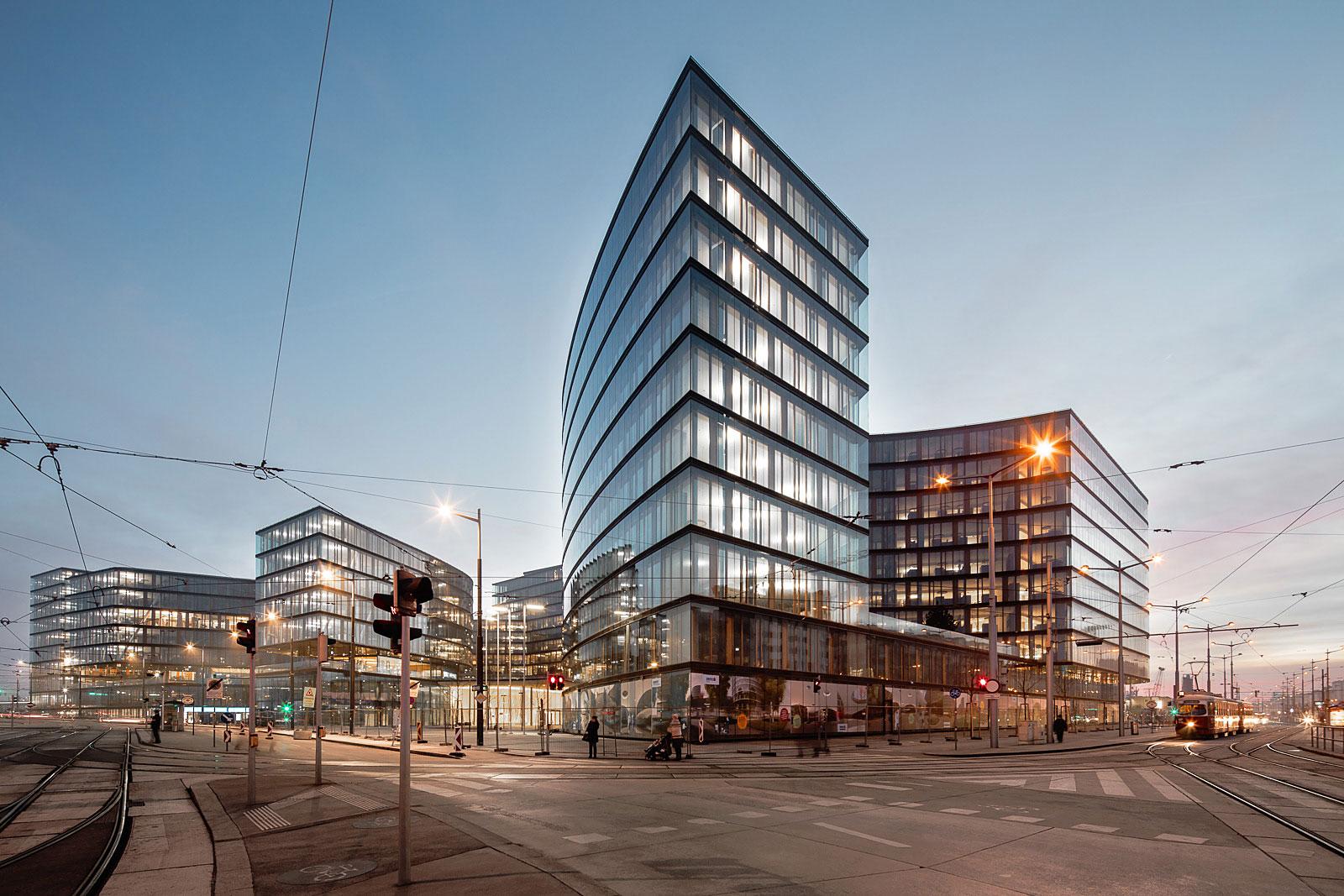 Architekturfotograf Wien, Henke Schreieck Architekten planen den Erste Bank Campus in Wien
