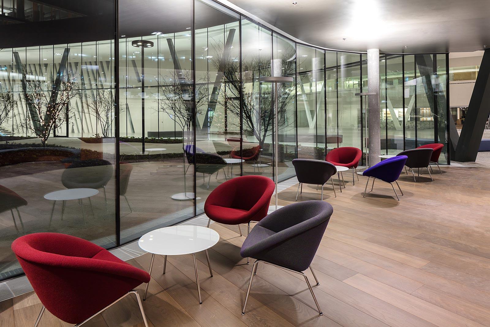 Architekturfotograf Wien und München, Lounge Walter Knoll, Interior Fotografie in Wien