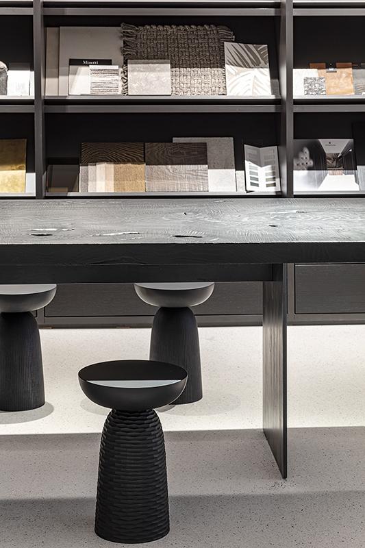 Fotografie in einem Showroom für Design und Inneneinrichtung