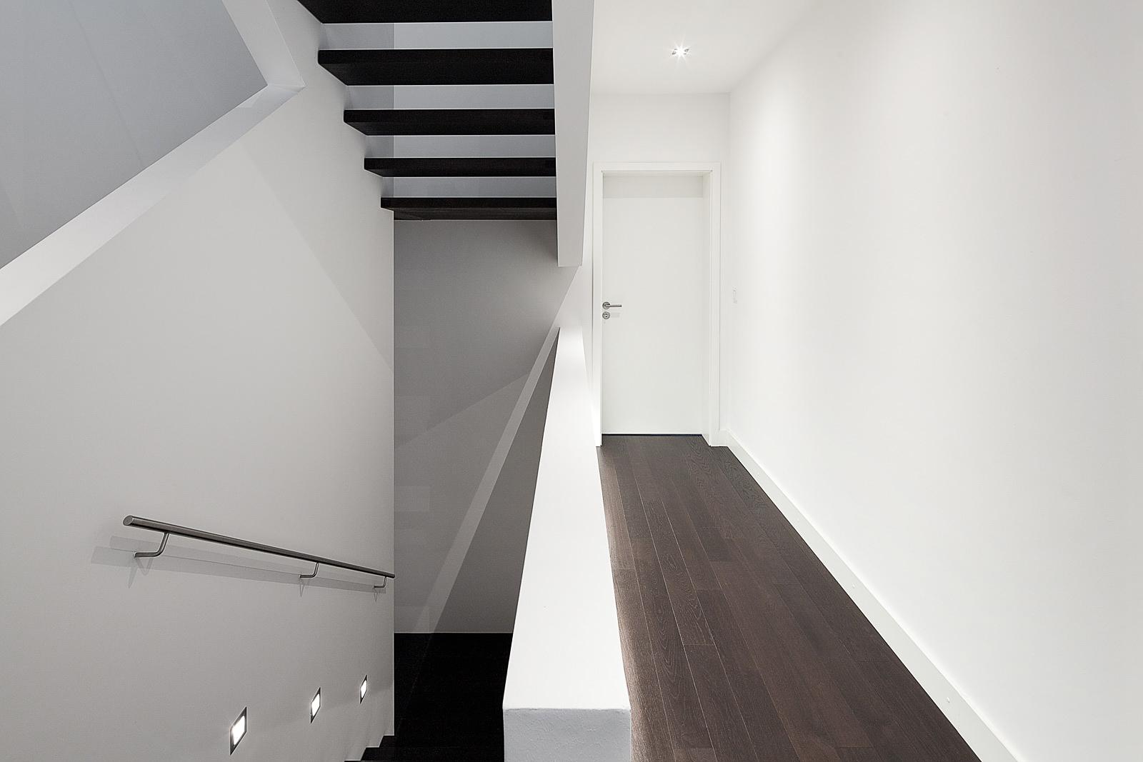 Architektur Fotografie, Treppenhaus Innenaufnahme