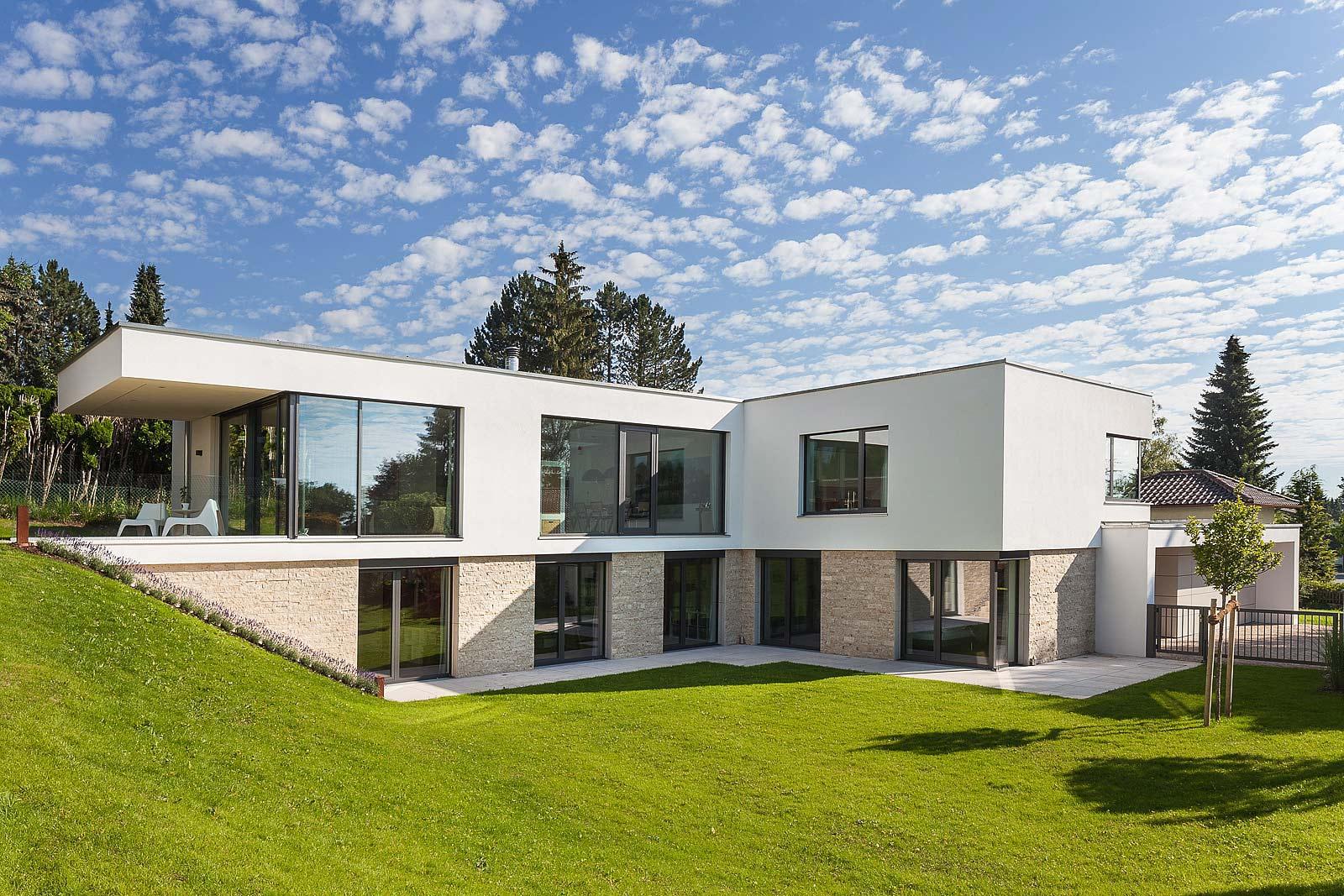 Architektur Fotograf in München, Starnberg Häuser, Aussenansichten