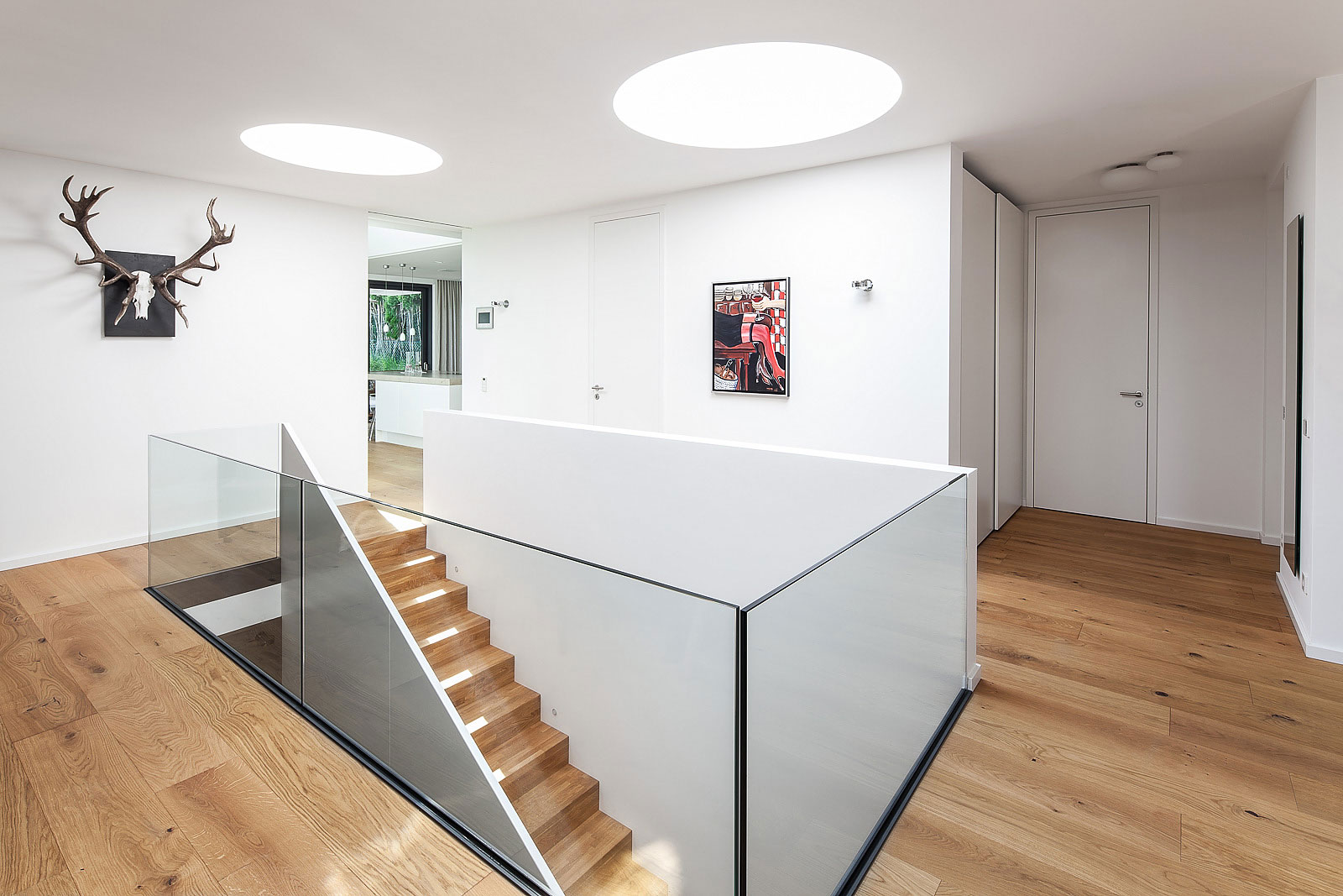 Architekturfotograf, Innenaufnahme, Treppenhaus, Architekturfotografie