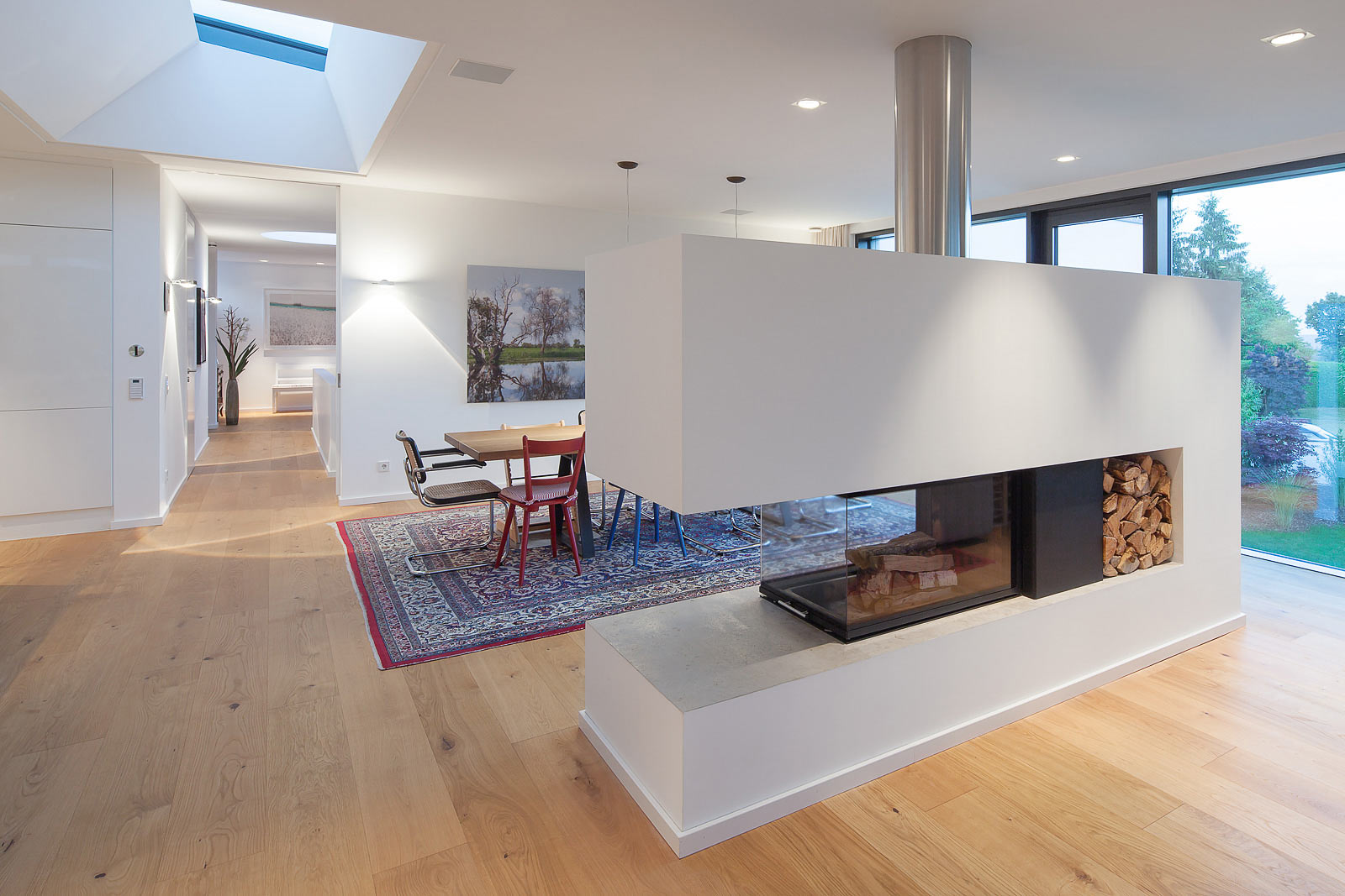 Architektur Fotograf Einfamilienhaus, Wohnbereich photographie