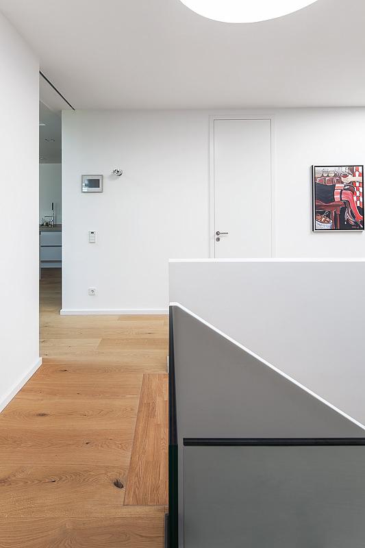 Architektur Fotograf Einfamilienhaus, Detailfoto, Treppenhaus, Architekturfotografie
