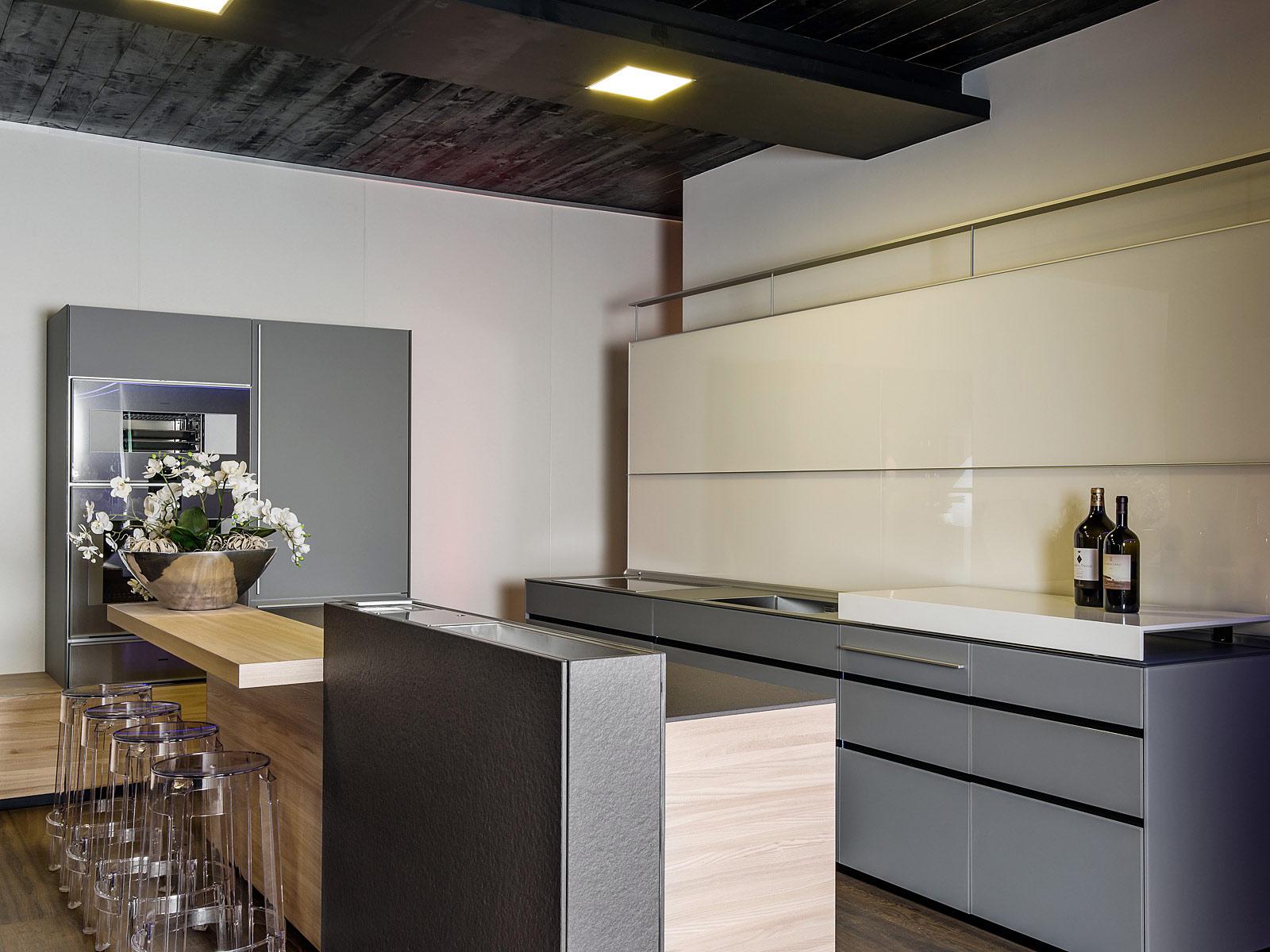 Architekturfotografie Innenraum, Küchen Fotoaufnahmen im showroom, Kitzcorner, on location,