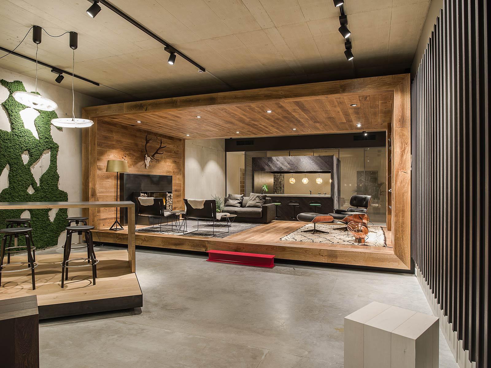 Architekturfotografie Innenraum, Showroom Fotografie, Kitzcorner,