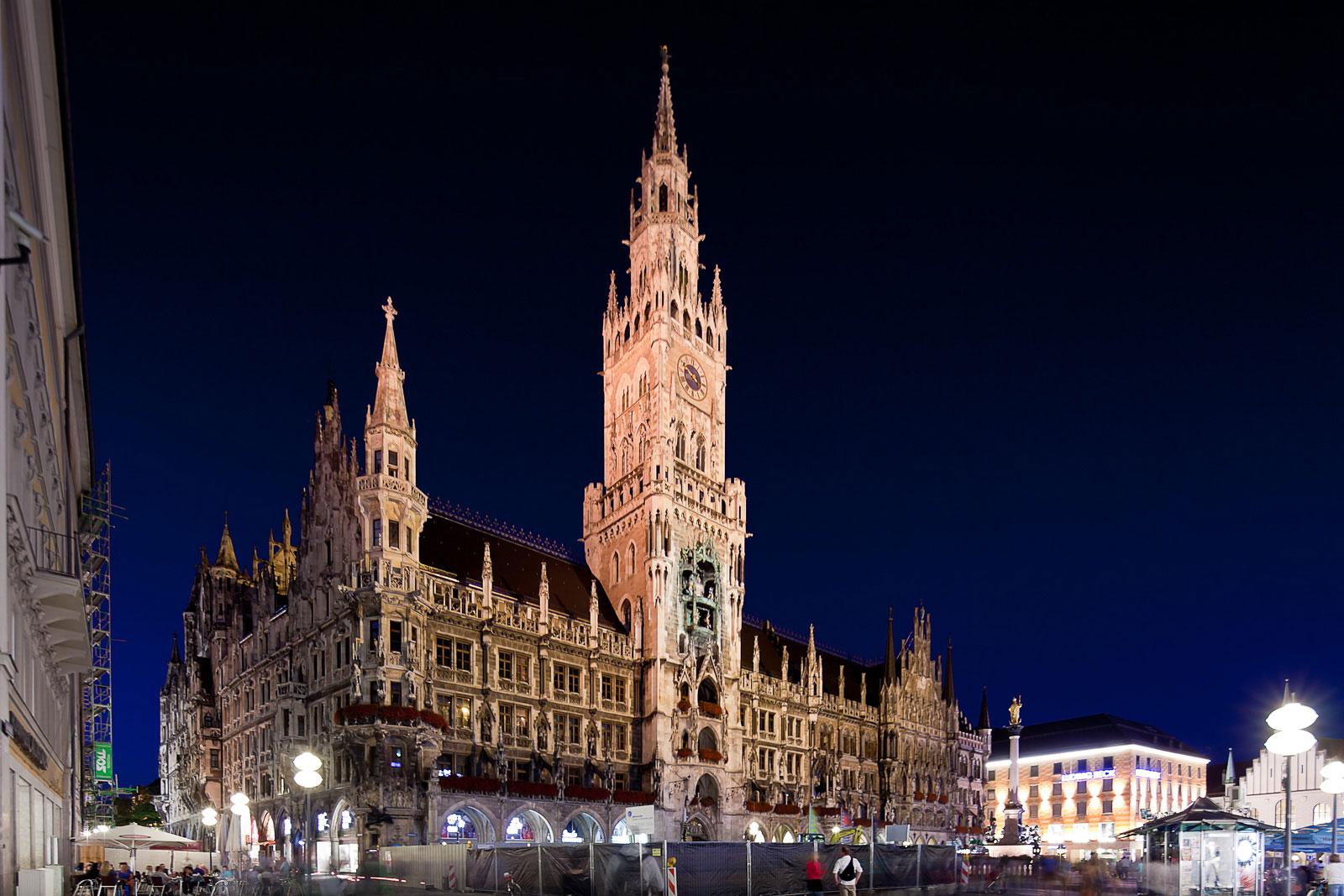 Architekturfotografie in München Stadt, Rathaus