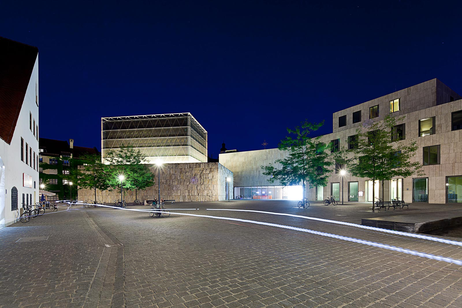 Architekturfotografie München, Abendaufnahme