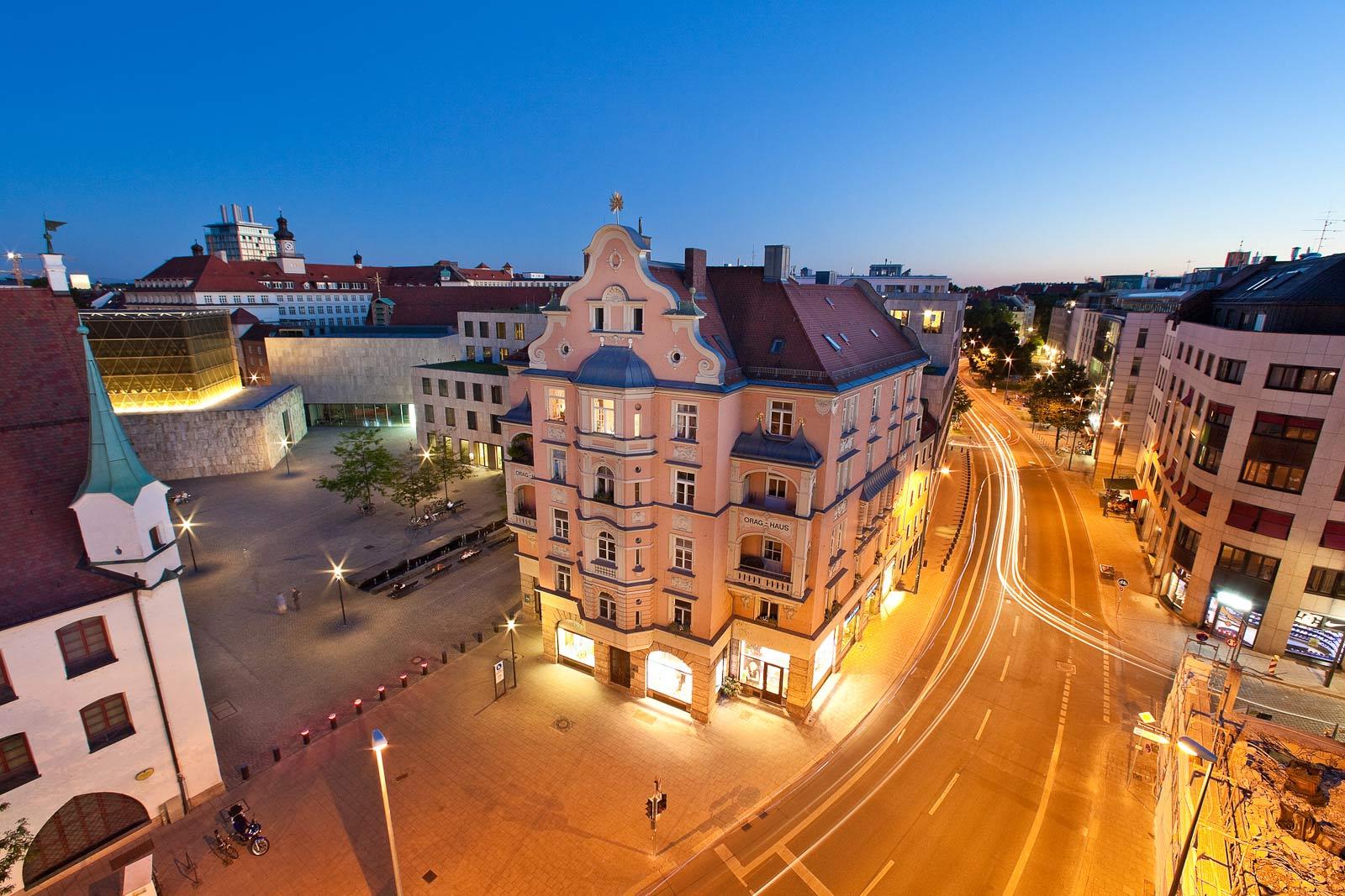 Architekturfotograf Stadt, Fotograf München,