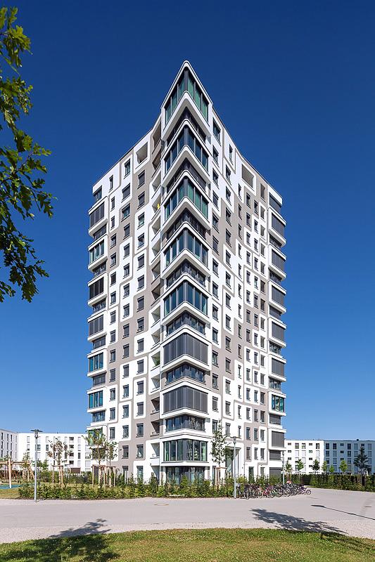 Immobilien Projekte, Architekturfotograf München spezialisiert für Aussenaufnahmen