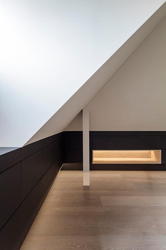 Architekturfotografie Innenraum, Einbauschrank, Detail, Tischlerarbeit nach Maß