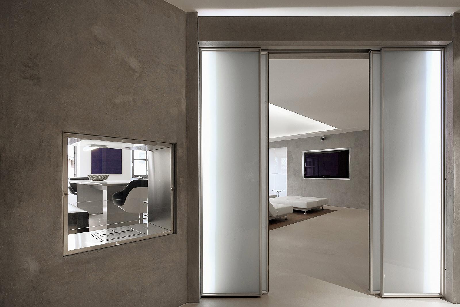 Eingang mit Wohnbereich Foto