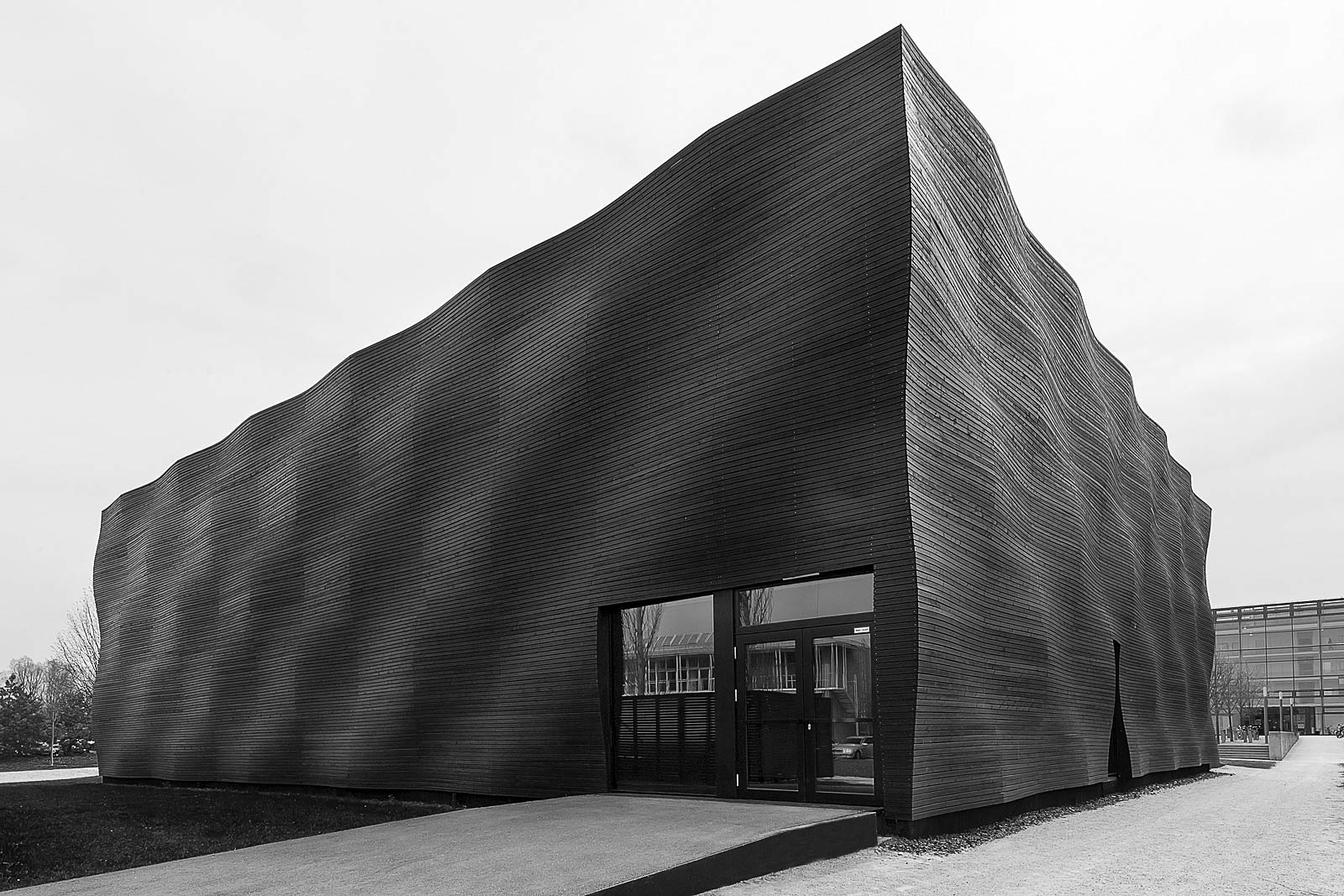 Architekturfotograf München, Aussenaufnahme Foto, Architekturprojekt in München
