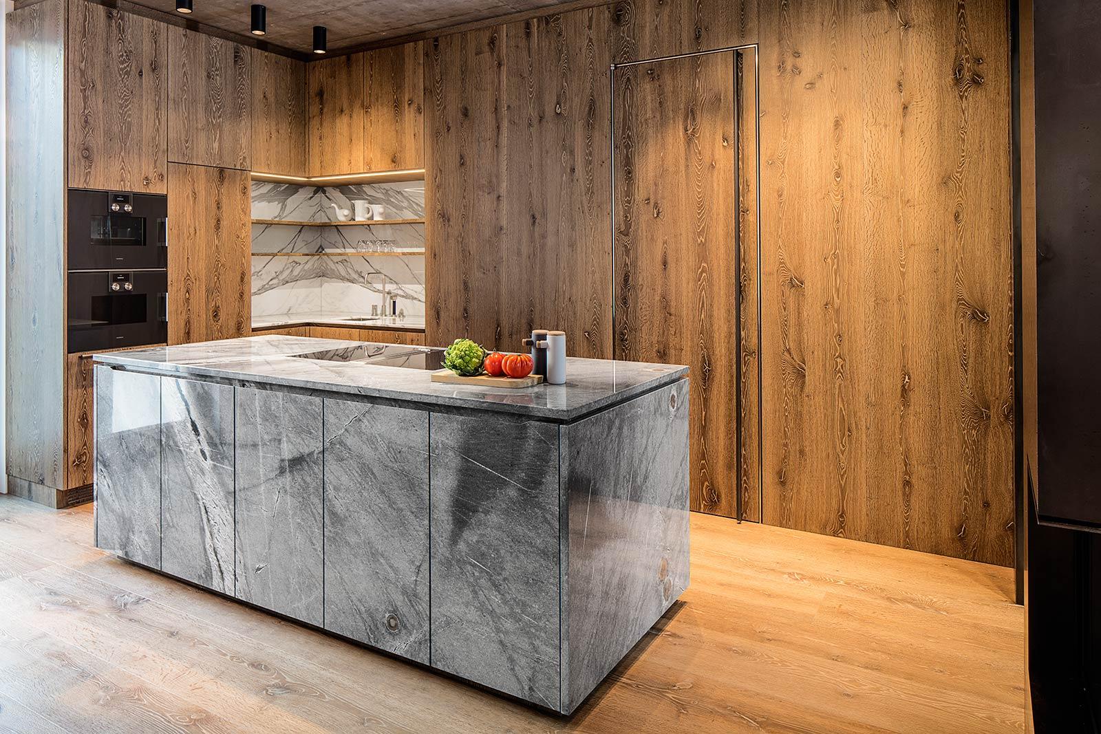 Architektur und Innenarchitektur Fotograf, Fotograf für Küchen im Showroom