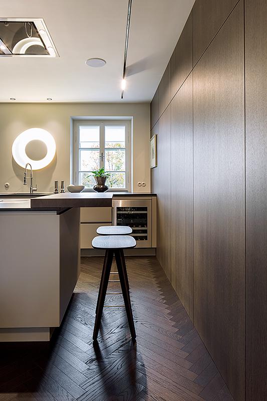Interieur Fotografie einer Architekten Wohnung, Architekturfotograf München, hochwertige Architekturfotos