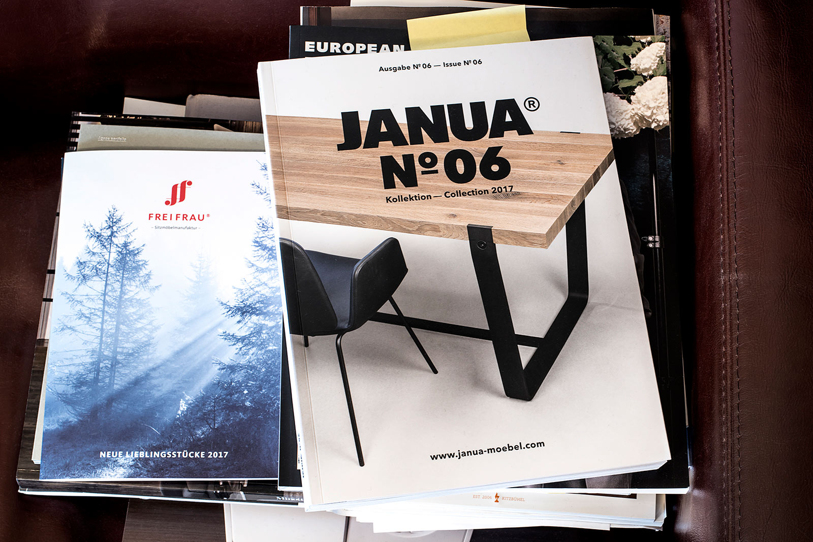 Titelfoto Katalog, Möbelhersteller, Produktfotograf