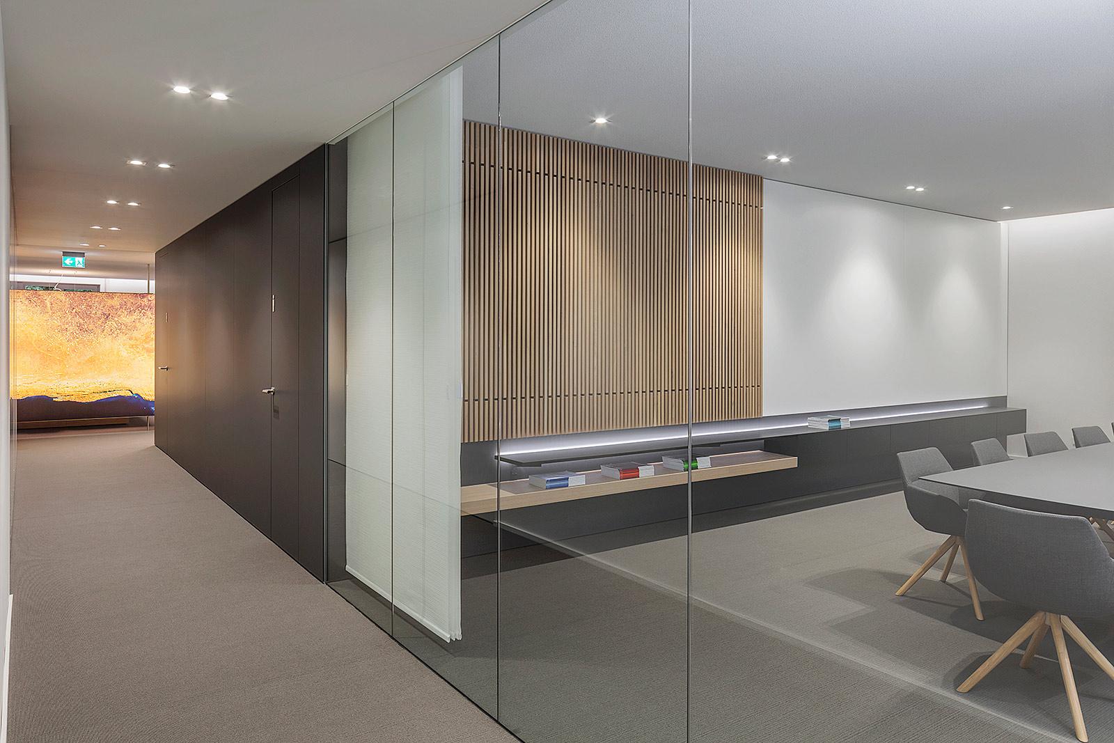 Innenarchitektur Foto in Büroräumen