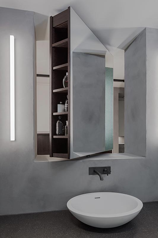 Innenaufnahme Badezimmer Details