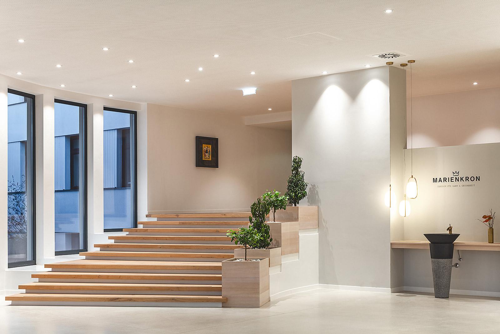 Foyer Architekturfoto Treppe