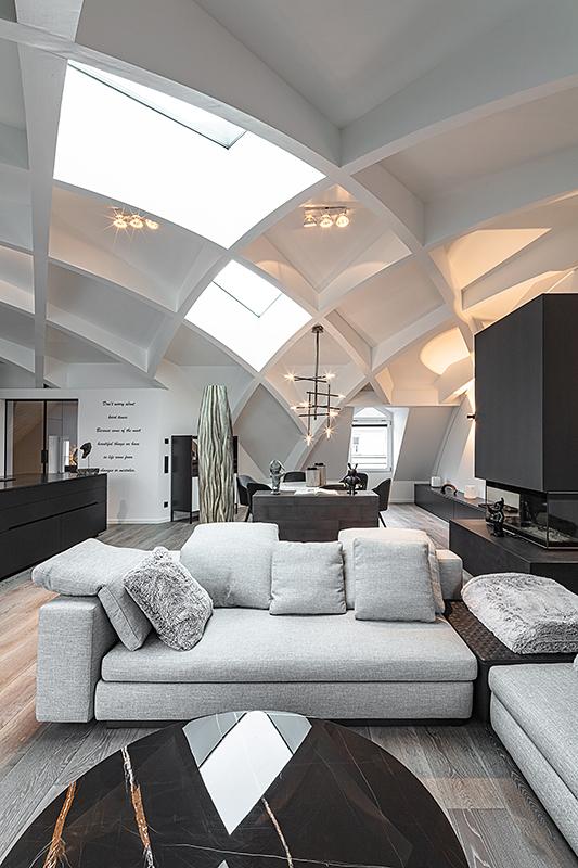 Interior Foto Dachgeschoss Wohnung