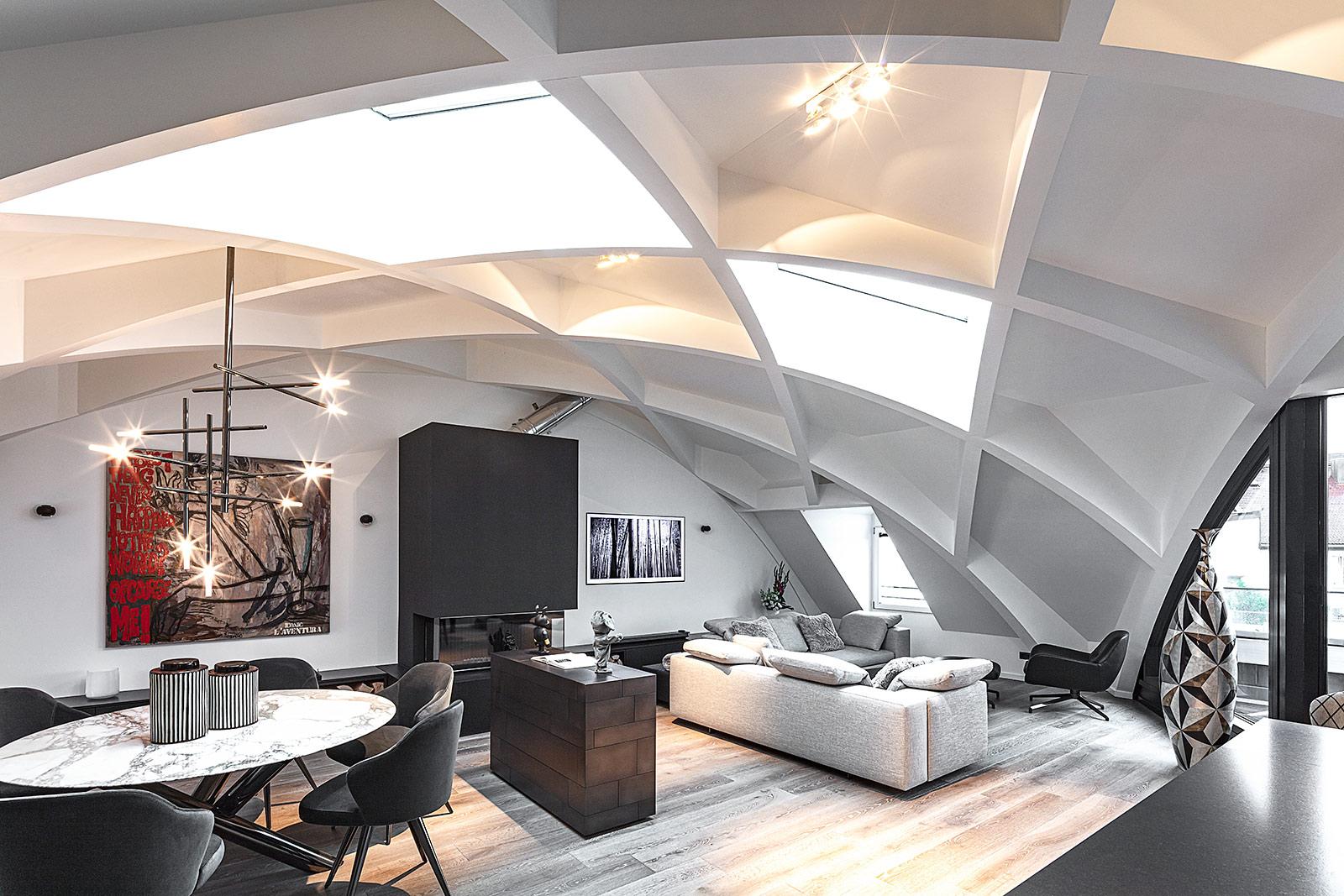 Interiorfotografie Dachgeschoss Wohnung