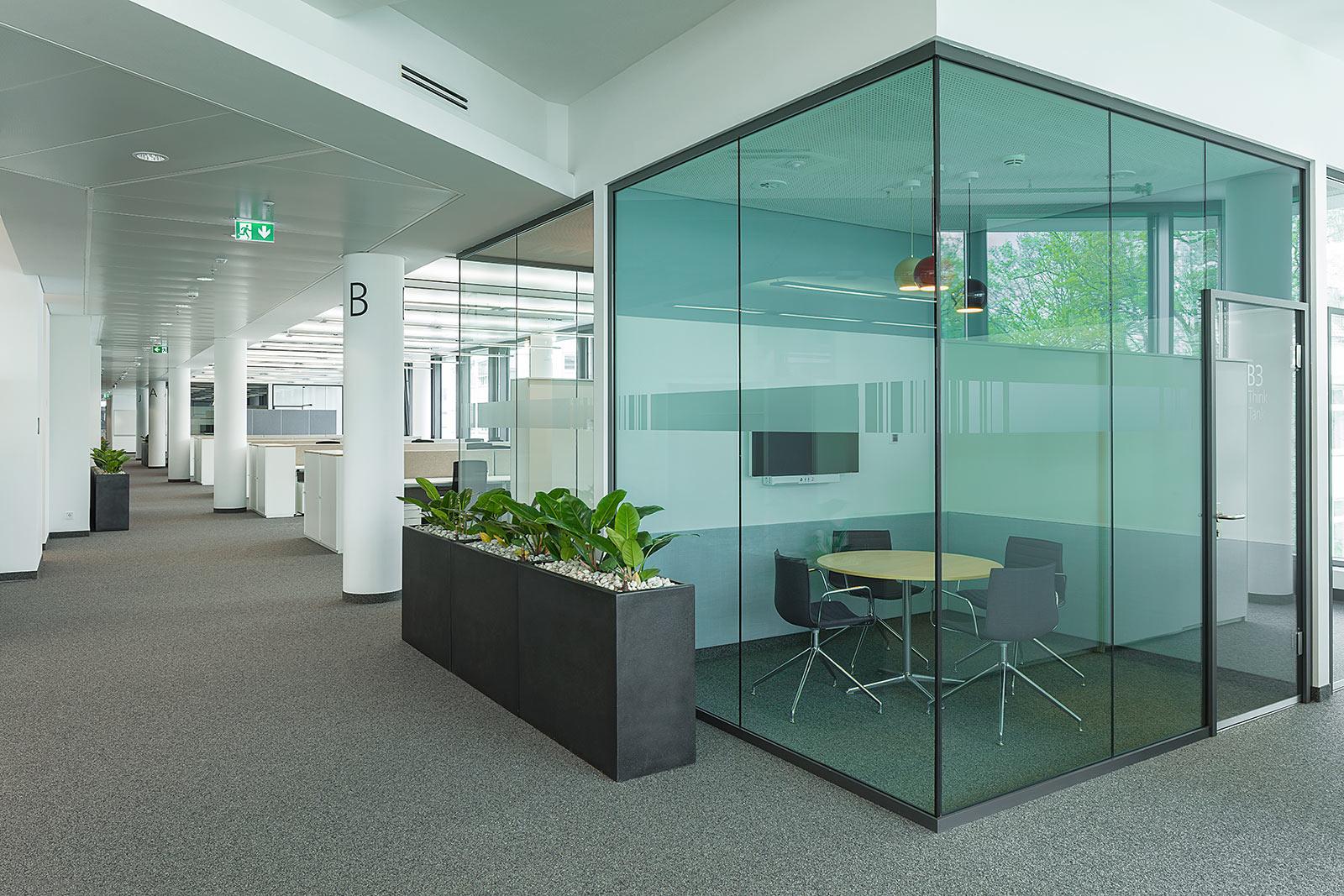 Bürogebäude Fotoaufnahmen