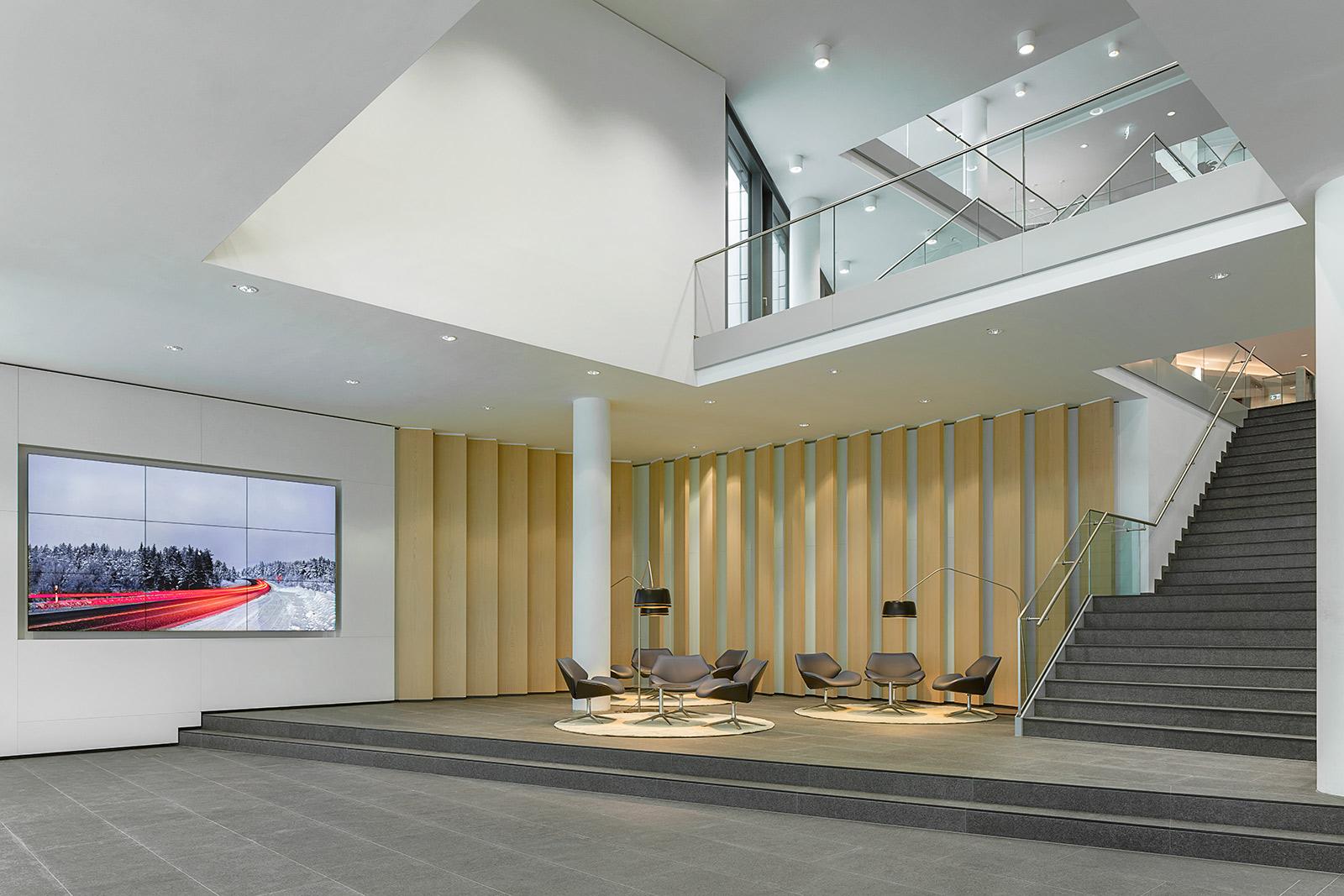 webasto Firmenzentrale in Stockdorf Architekturfotograf Gabriel Buechelmeier