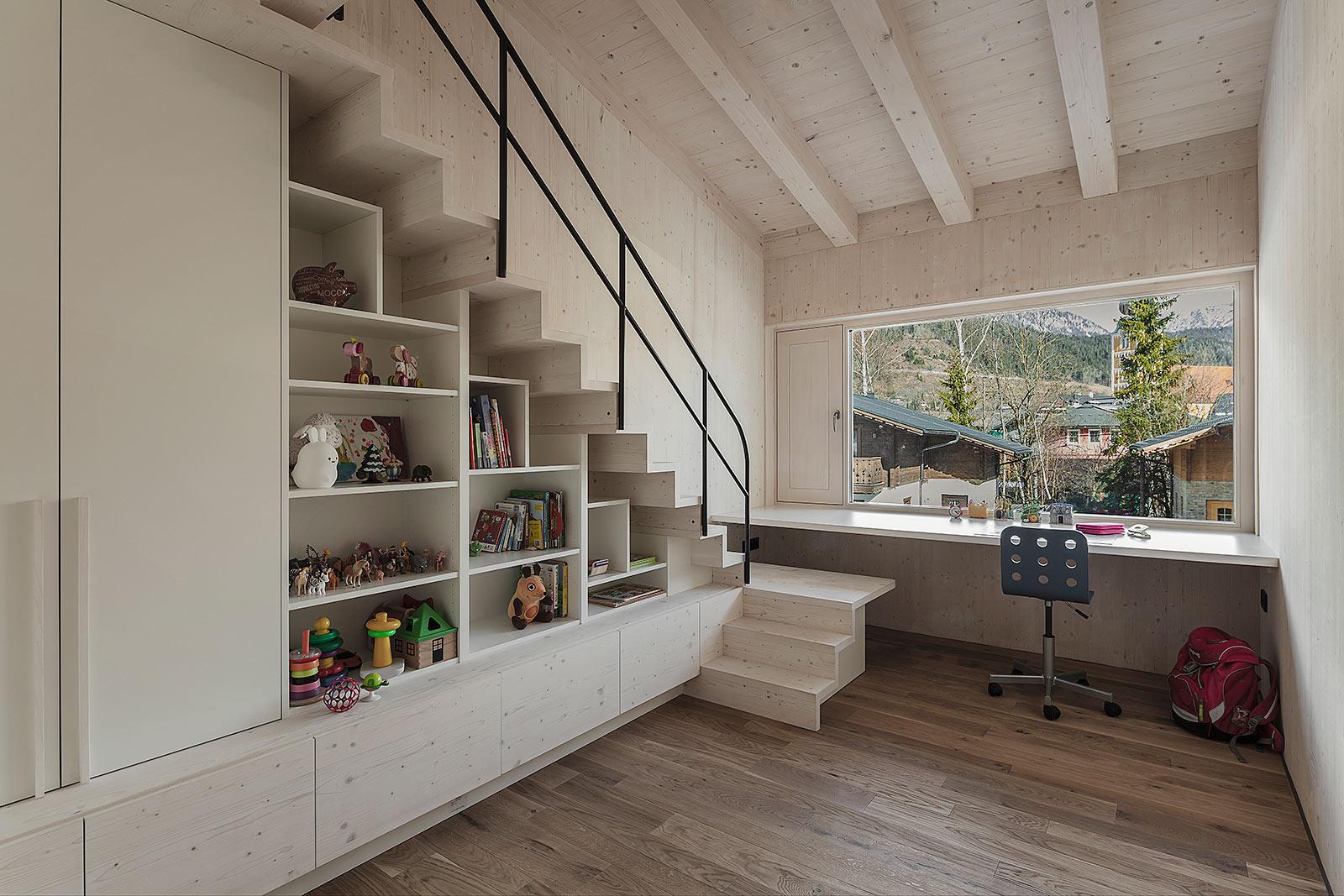 Foto modernes zeitgemäßes Kinderzimmer