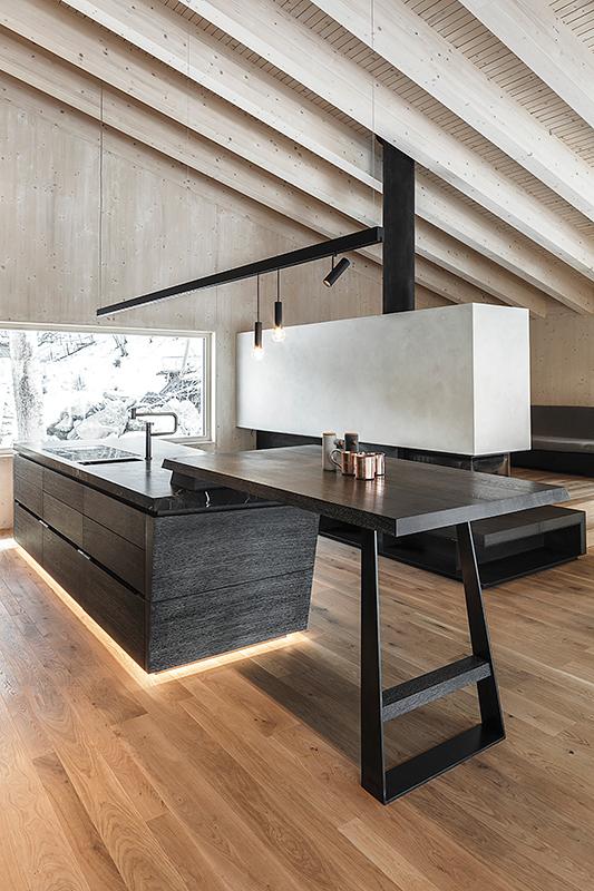 individuell geplante Küche von Mayr & Glatzl Wien