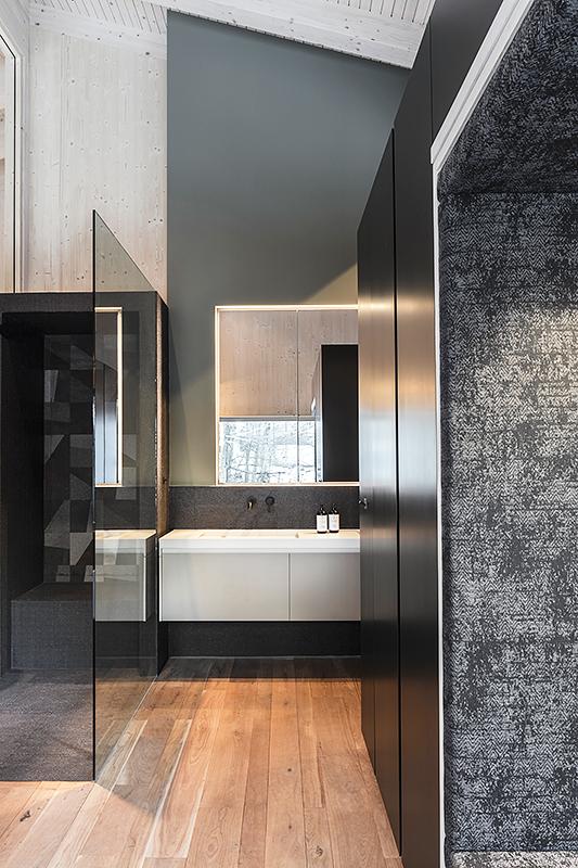 Interior Fotografie von einem Badezimmer