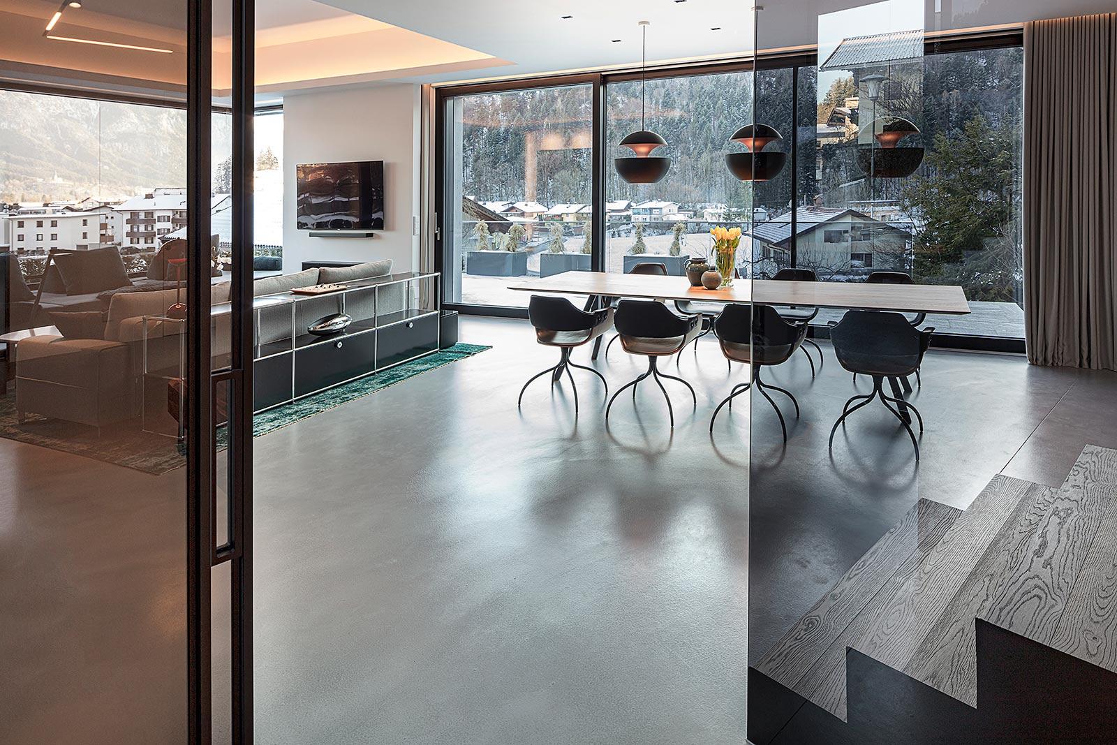 offener Wohn-Essbereich, Fotograf für Architektur