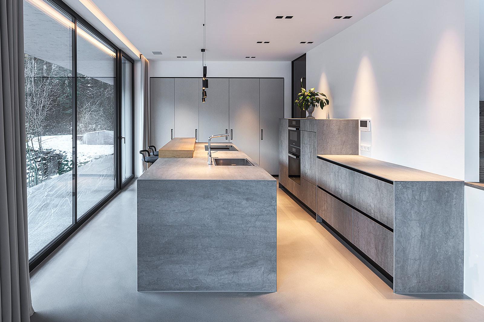 Interior Fotoaufnahme einer Küche