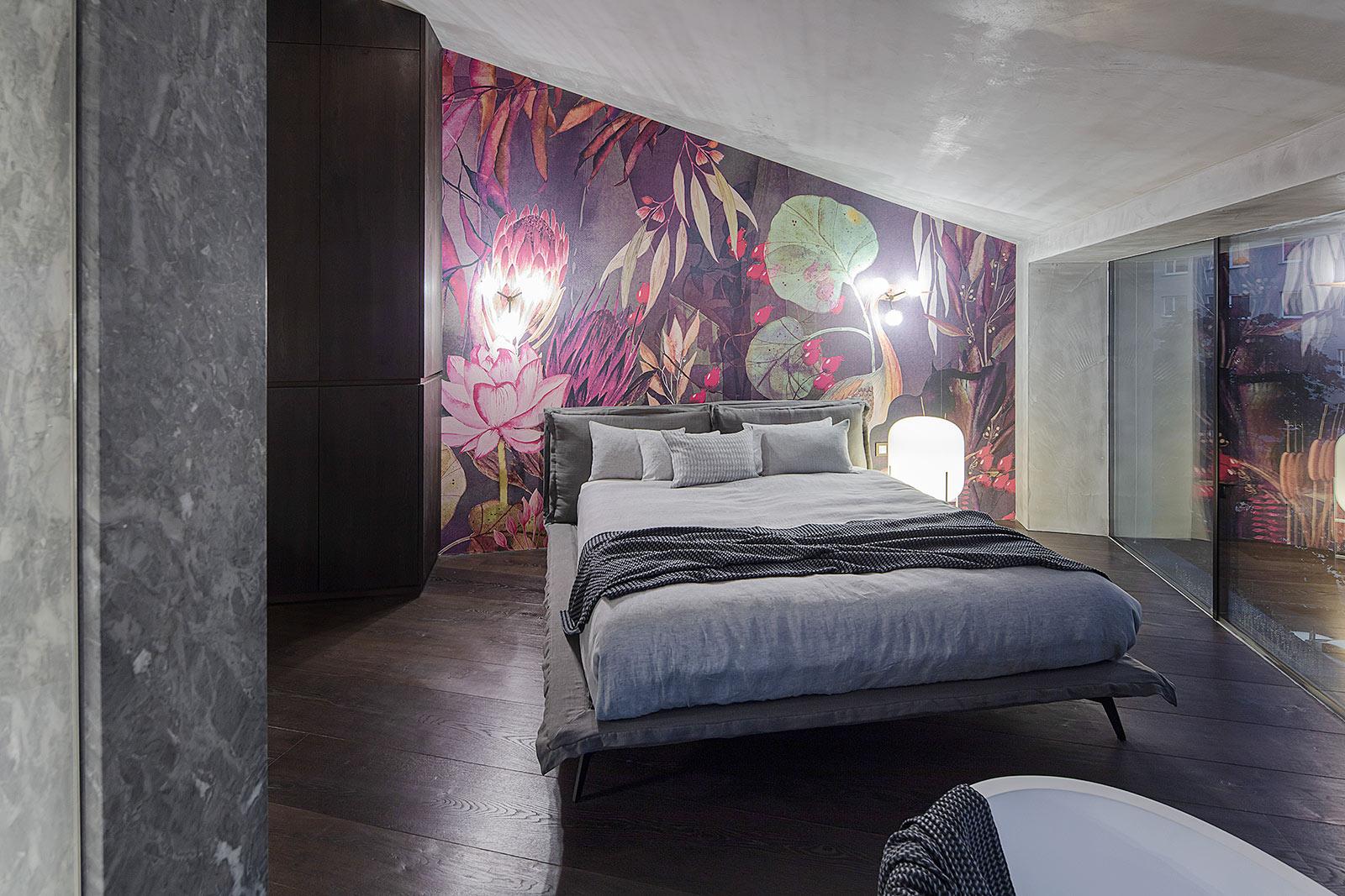 Schlafzimmer Interior Foto,