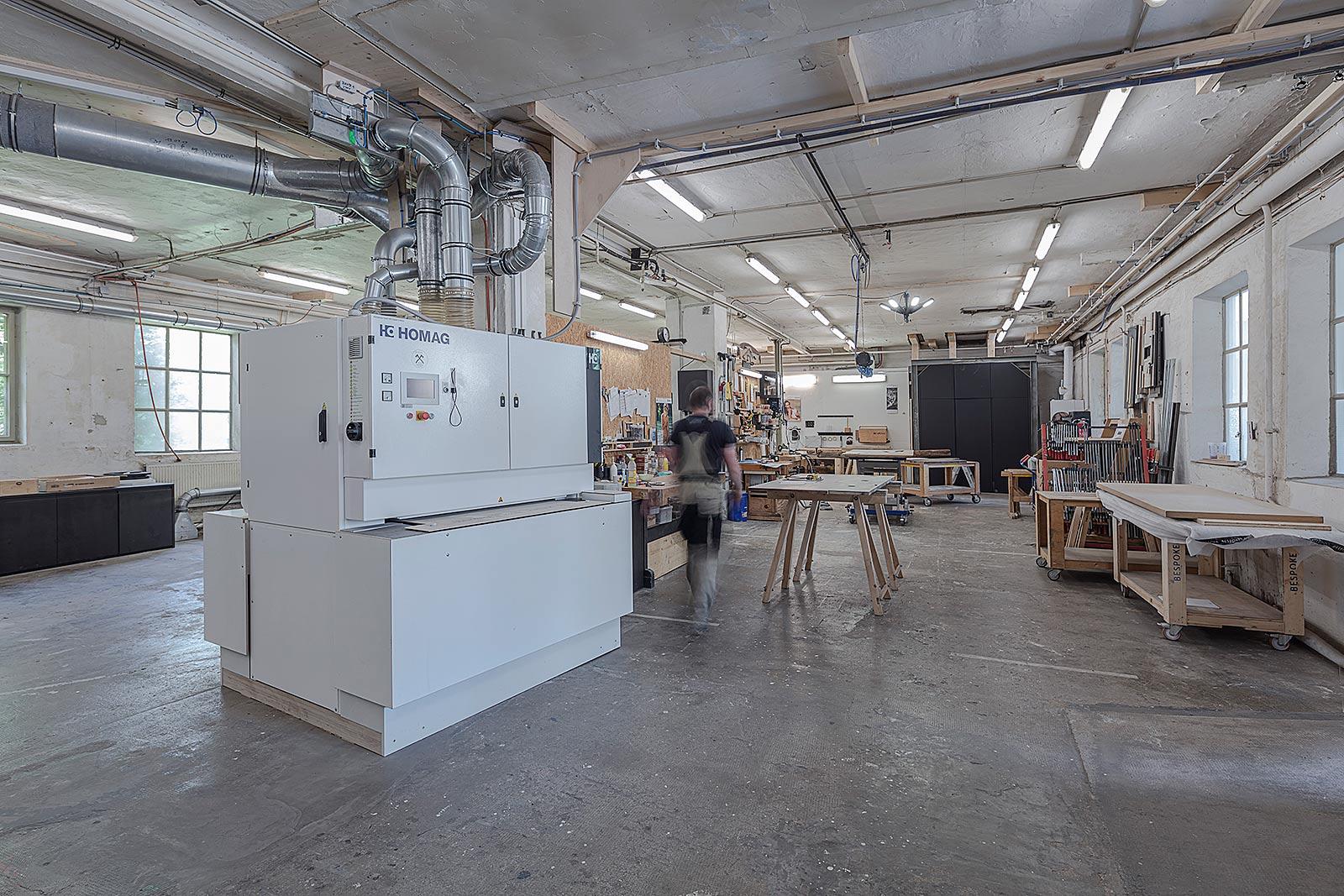 Schreinerei Firmenporträt Fotos in München