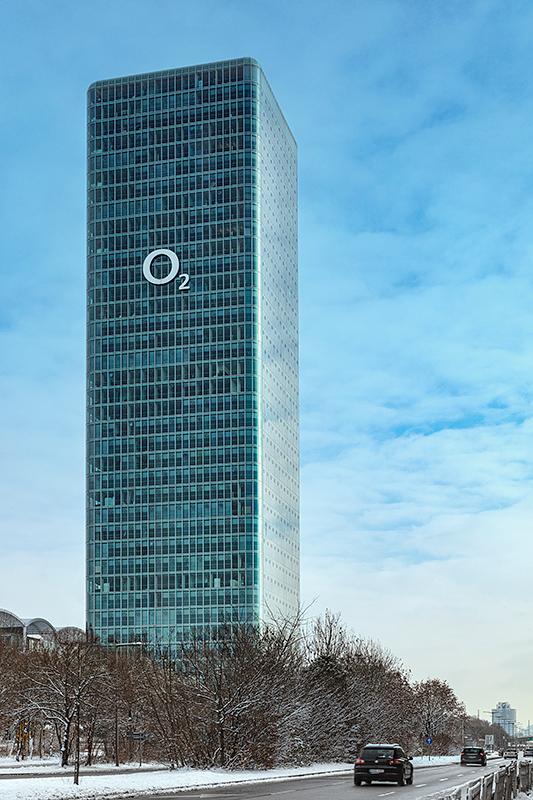 uptown münchen O2 Tower, Immobilienfotografie