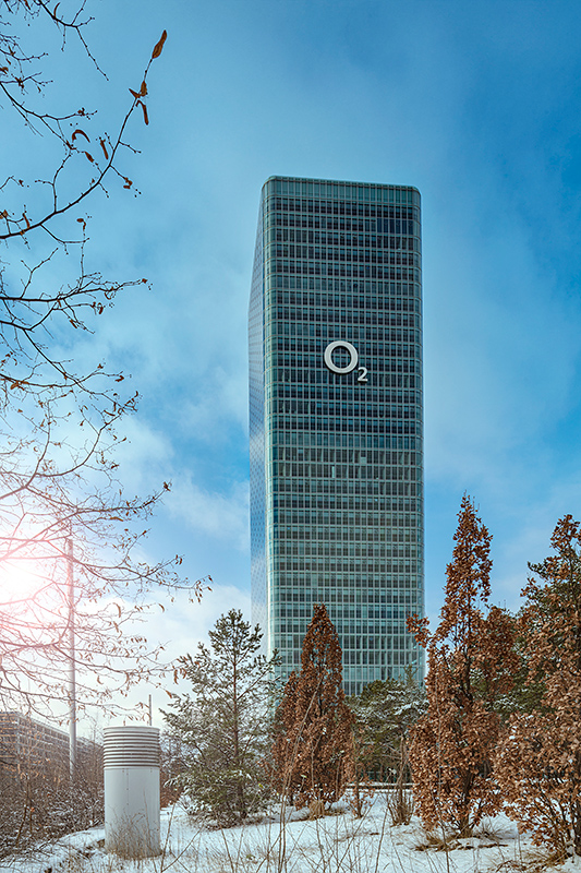 Architekturfotograf München, O2 Tower