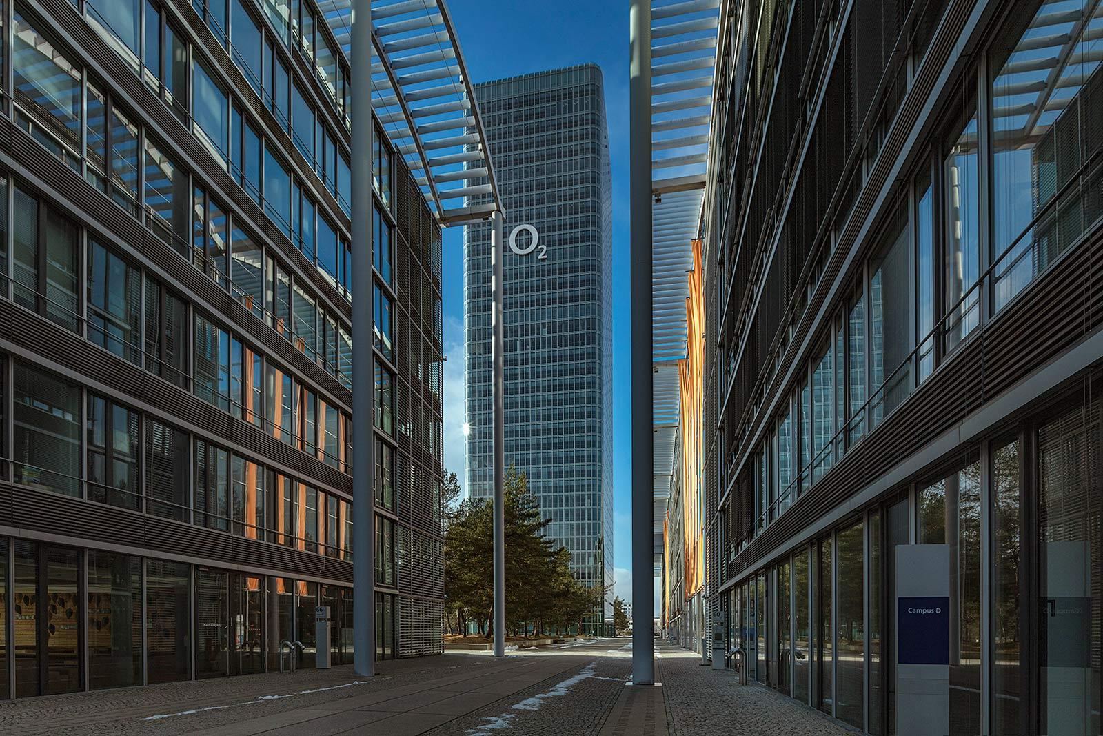 Architekturfotograf in München, Hochhaus Aufnahme