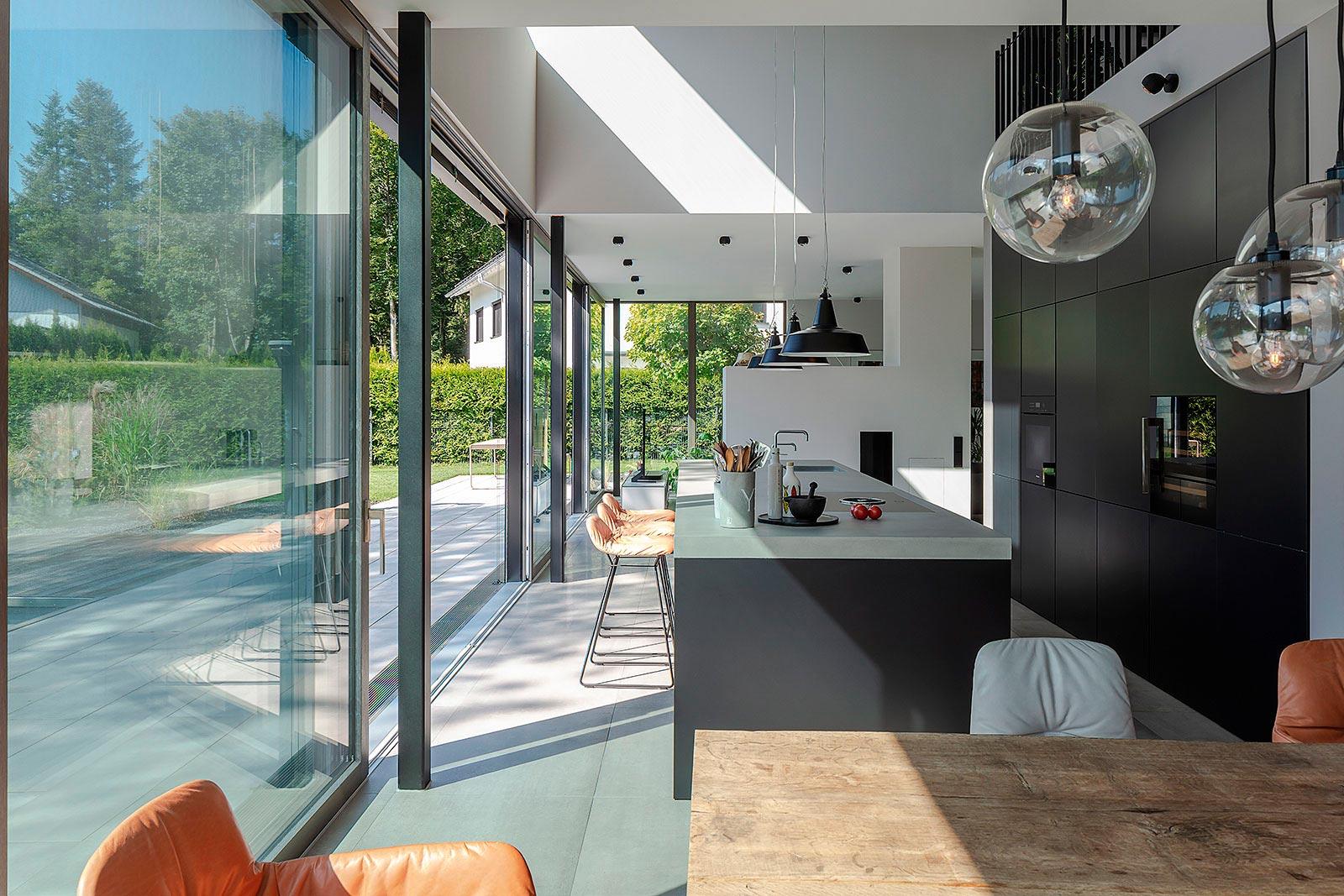 Stimmungsvolle Interior Aufnahme, Architektur,